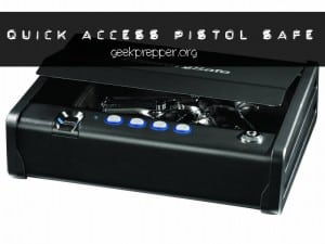 quick access pistol safe