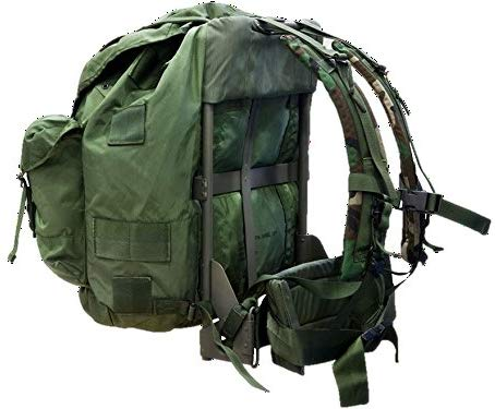 Alice Pack with straps and frame