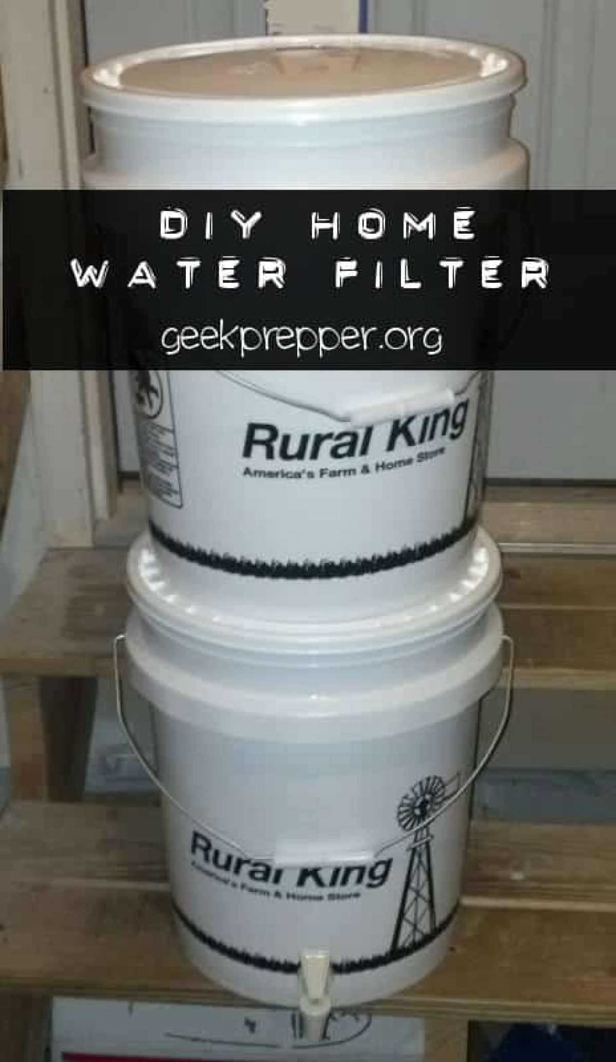 How to DIY a Home Water Filter System w