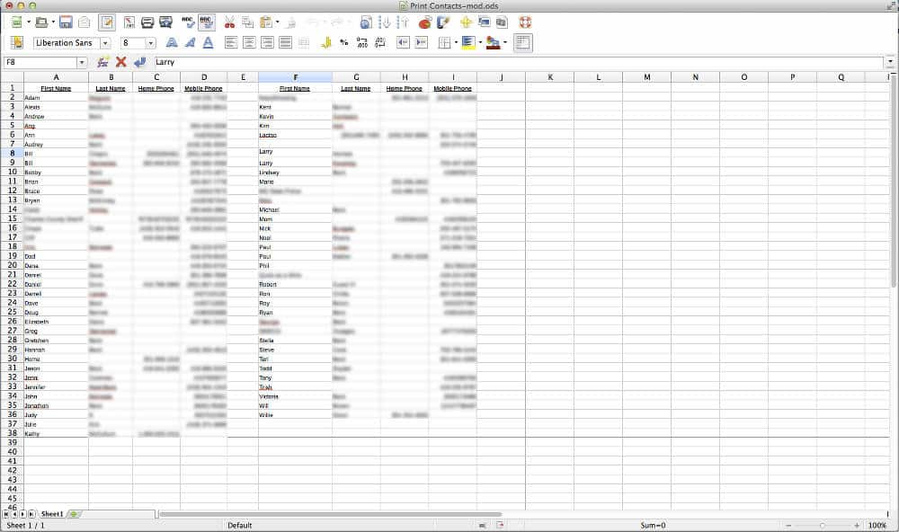 contacts-spreadsheet