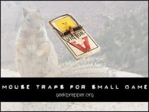 mousetaps for small game