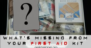 what's missing from your first aid kit