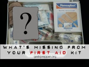 Frequently Overlooked First Aid Kit Items