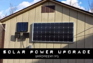100 Watt Solar Panel Upgrade