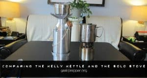 comparing the kelly kettle and solo stove
