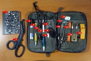 edc pack contents 1