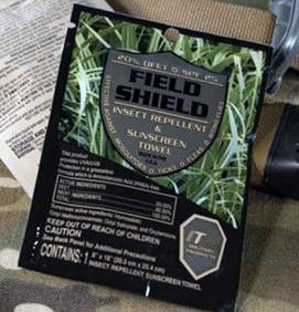 field and shield insect repellent and sunscreen