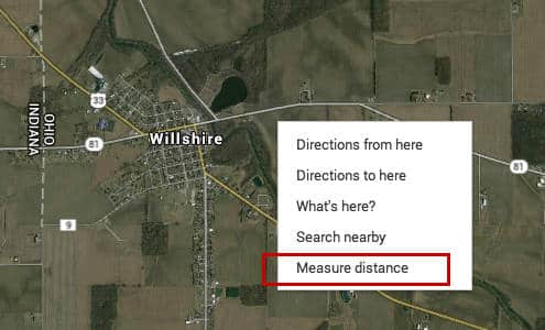 google earth measure distance