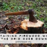 Obtaining Firewood