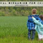 Survival Scenarios for Children