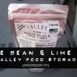 Valley Food Storage White Bean and Lime Chili Review