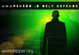 awareness is self defense