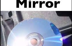 use a cd as a signal mirror