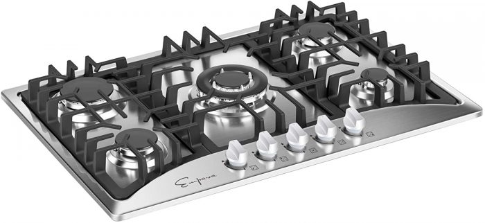 gas stove cooktop