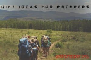 gift ideas for preppers