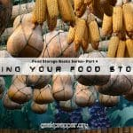 Storing Your Food Storage