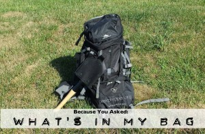what's in my bugout bag
