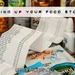 Building Up your Food Storage