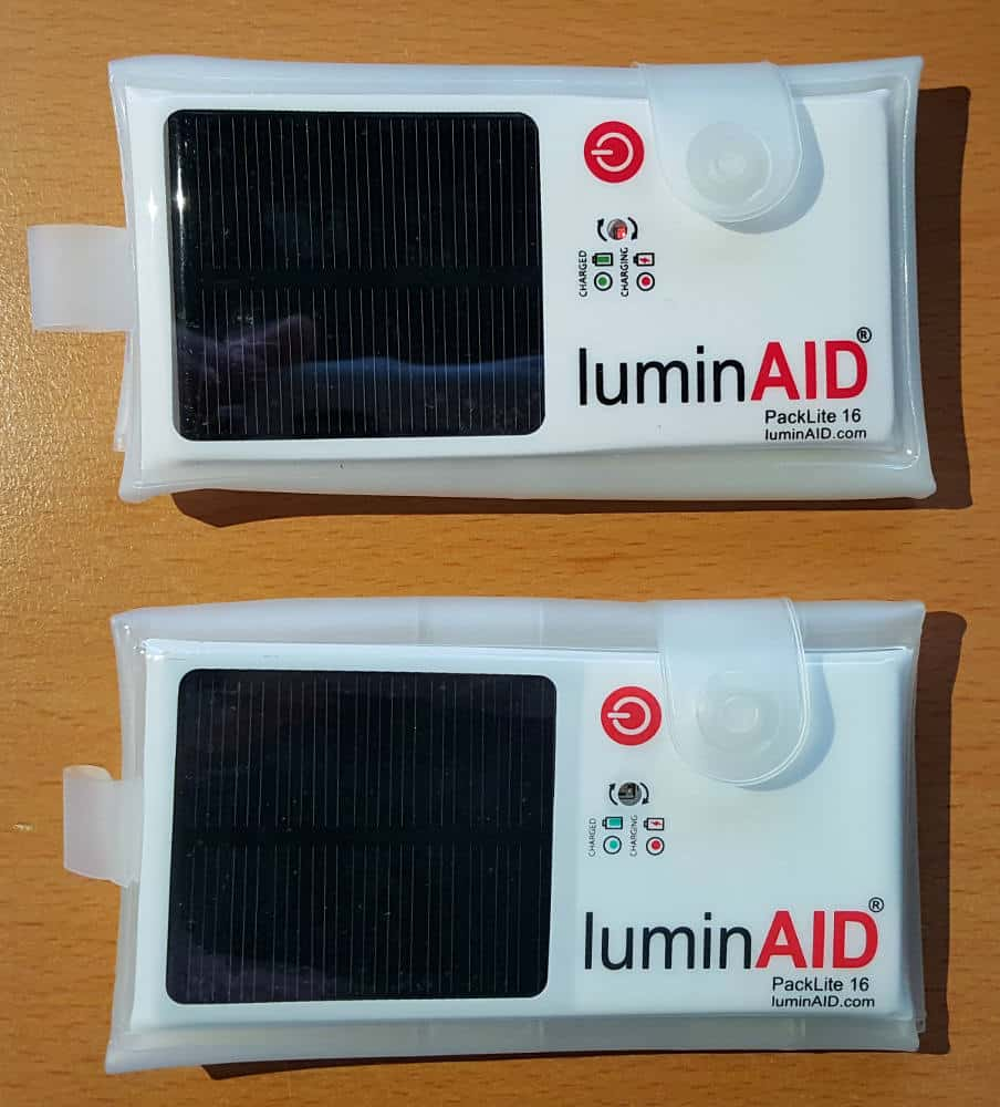 2 Luminaid Packlites