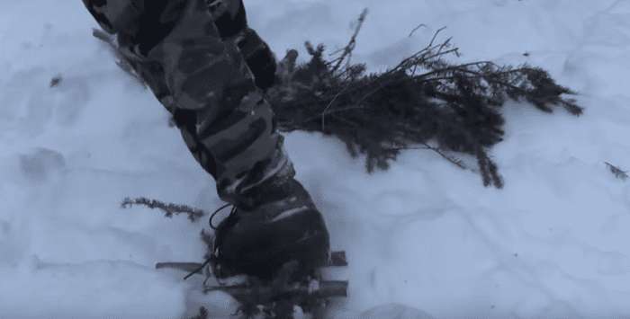 DIY Snowshoes - Taken from Far North Bushcraft And Survival