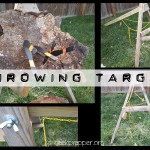 Throwing Target Stand