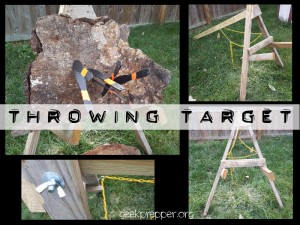 throwing target geekprepper