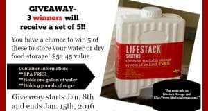 LifeStack Storage Container Giveaway
