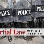 What you Need to Know About Martial Law
