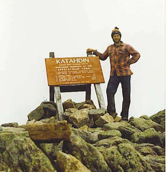 Mt Katahdin Summit Ron