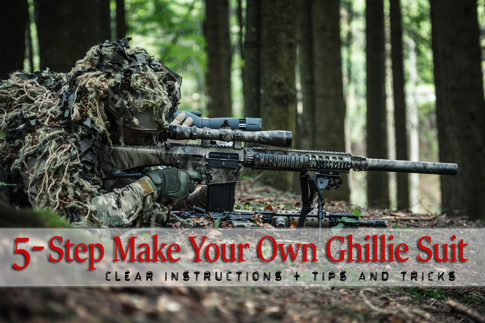 5 Steps To Make A Super Camo Badass Ghillie Suit For