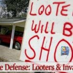 Home Defense Against Looters And Intruders During Civil Unrest