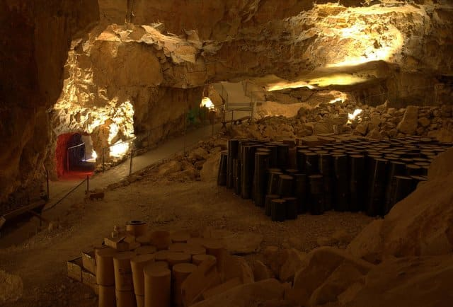 underground bunkers - canyon caverns