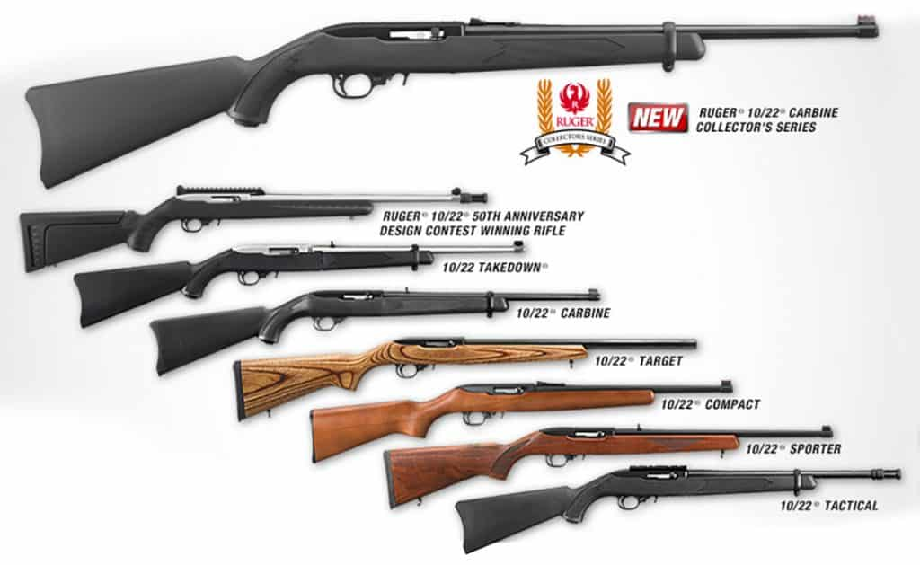 Ruger 10-22 Model Variants