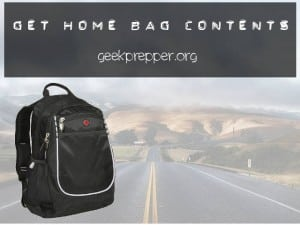 get home bag contents