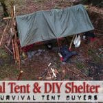 Survival Tent & DIY Shelter Mastery Guide (+ 2018 Buyers Guide)