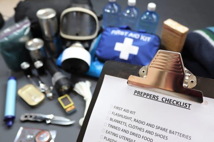 preppers checklist