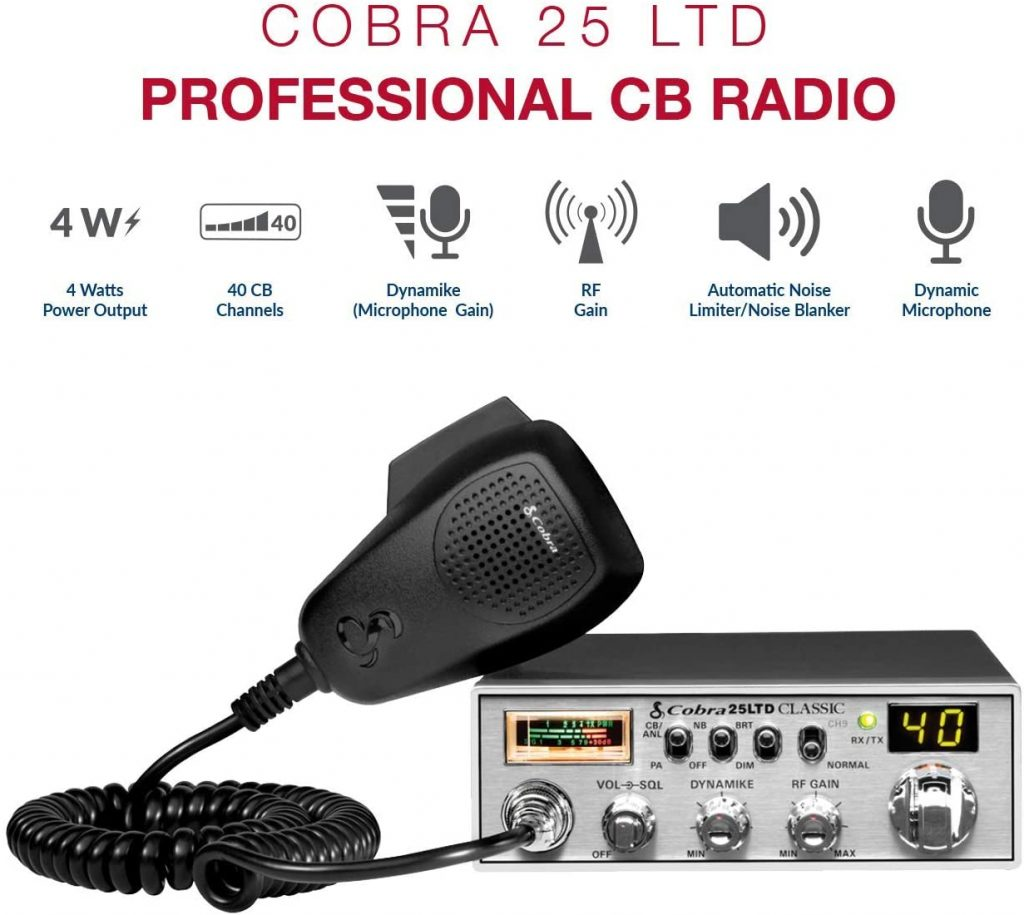 Cobra 25LTD Professional CB Radio