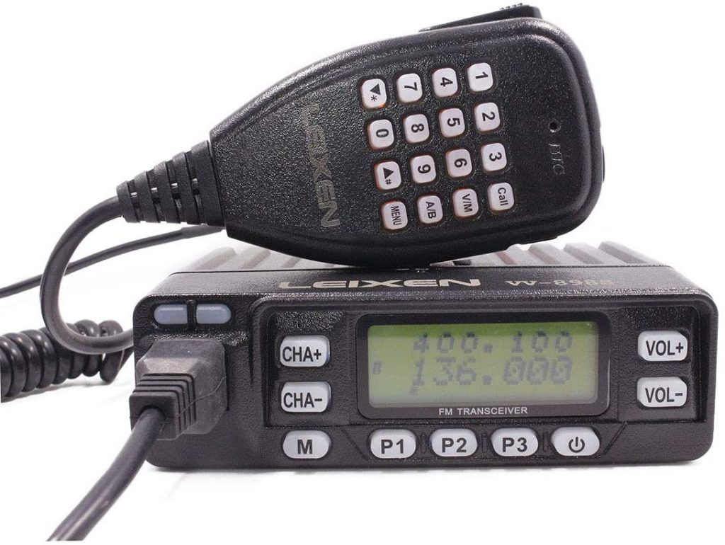 LEIXEN VV-898S Dual Band VHF:UHF 5W:10W:25W Two Way Radio