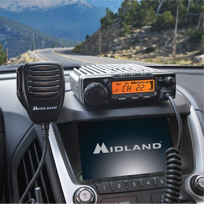 Midland - MXT400, 40 Watt GMRS MicroMobile Two-Way Radio