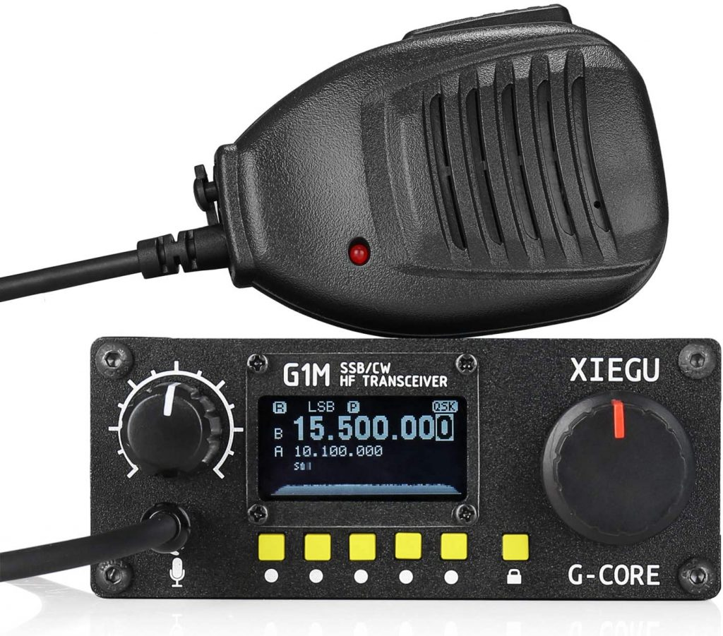 Xiegu G1M G-Core Portable SDR HF Transceiver QRP Quad Band Short-Wave
