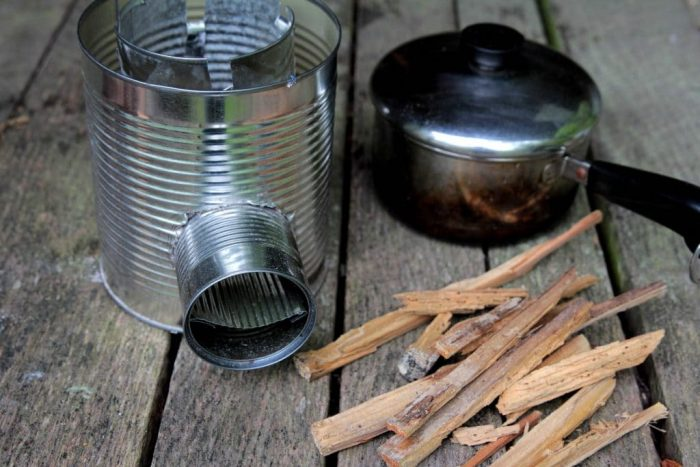 Can Rocket Stove