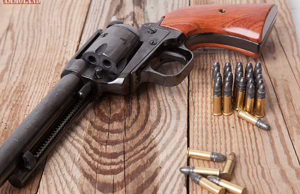 22-LR-Revolver-with-Ammo by ammoland